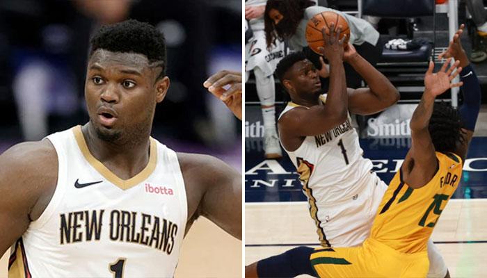 En plein air, Zion détruit son adversaire ! NBA