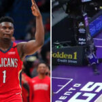 NBA – Trop puissant, Zion envoie valser un adversaire sur plusieurs mètres !