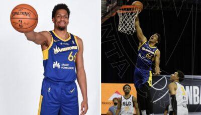 NBA/G League – Le Français qui déchire tout avec les Warriors