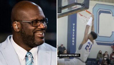 NBA/HS – Comme son père, Shaqir O'Neal casse (déjà) un cercle !