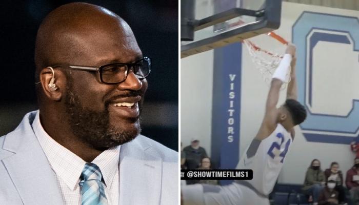 Shaqir O'Neal a brisé un arceau comme son père Shaquille à la grande époque NBA