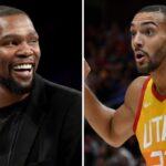 NBA – Le meilleur pote de KD dégomme Rudy Gobert… et se fait bloquer
