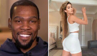 NBA – Kevin Durant surveille de très près… la sulfureuse copine d'un joueur NFL !