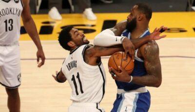 NBA – La séquence polémique virale entre Kyrie et LeBron juste avant le match