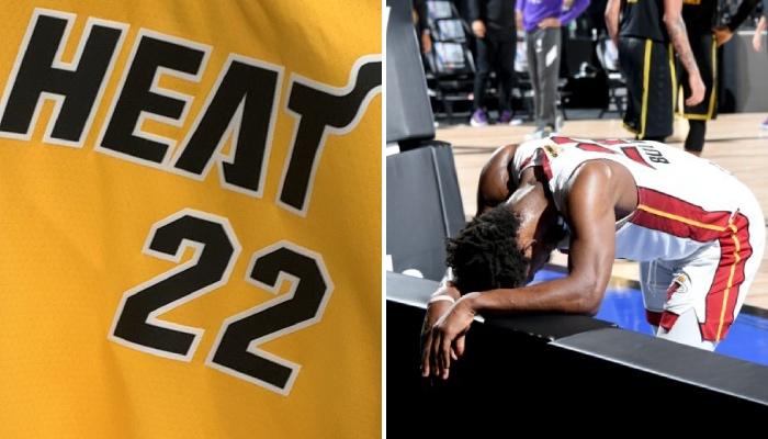 Le nouveau maillot du Heat en NBA a fuite, et les réactions sont critiques
