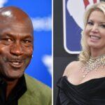 NBA – Michael Jordan dragué par… la propriétaire des Lakers !