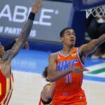 NBA – Théo Maledon réagit à sa magnifique soirée record