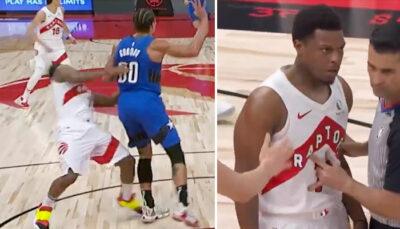 NBA – Lowry fait encore mal à Gordon, il se venge et le fracasse