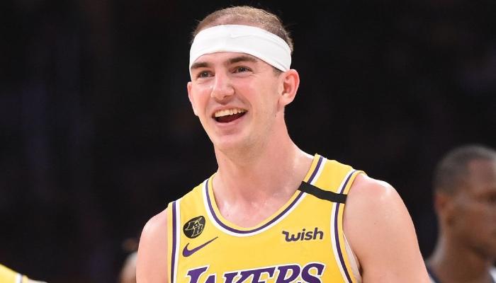 L'arrière des Los Angeles Lakers, Alex Caruso, a été comparé à une étonnante superstar NBA par son entraineur, Frank Vogel
