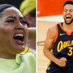 NBA – Ayesha déchainée devant le 3-Point Contest de Steph Curry !