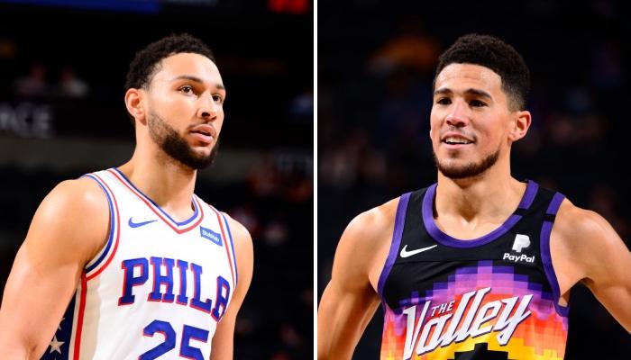 Le meneur star NBA des Philadelphia 76ers, Ben Simmons, a été ridiculisé sur et en dehors des terrains par l'arrière des Phoenix Suns, Devin Booker