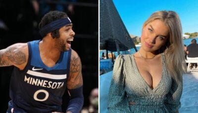 NBA – La sulfureuse copine de D'Angelo Russell enflamme Miami