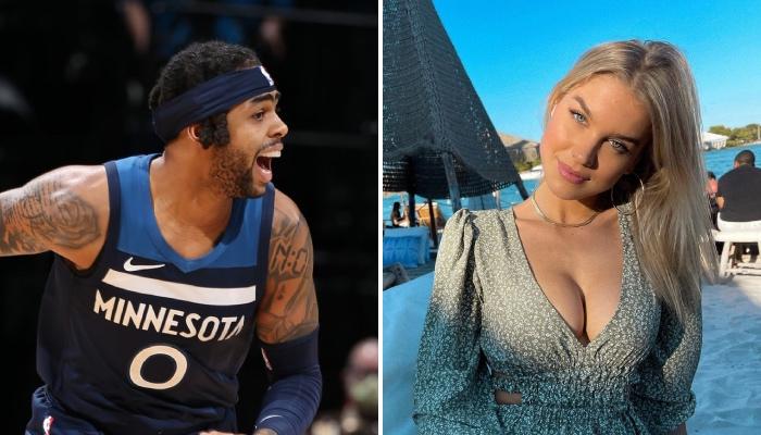 La petite amie de la star NBA des Minnesota Timberwolves, D'Angelo Russell, a enflammé Miami avec sa dernière publication sur Instagram