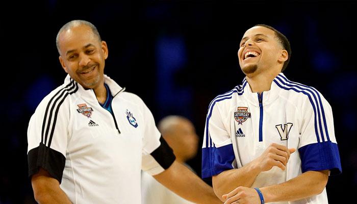La scène hilarante du père de Steph Curry après sa disparition NBA