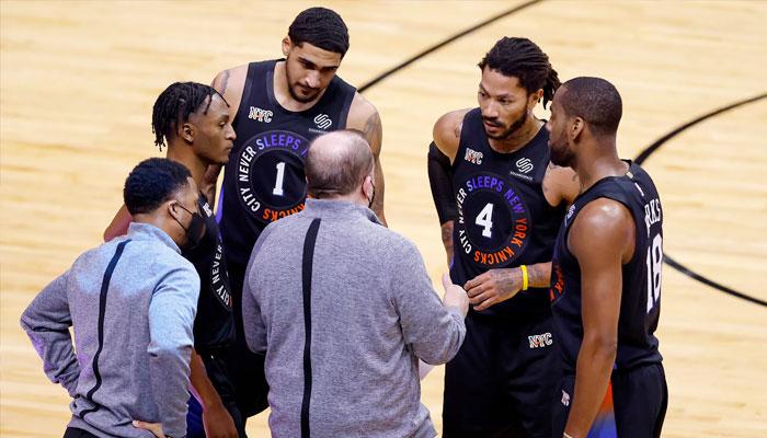 Derrick Rose, déjà impressionné, évoque son premier match aux Knicks NBA