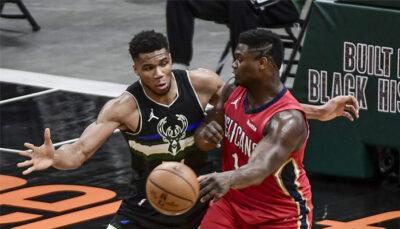 NBA – Le nouveau record impressionnant de Zion face aux Bucks de Giannis !