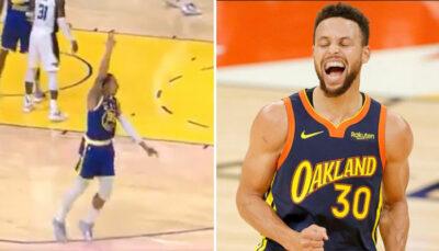 NBA – La géniale séquence entre Steph Curry et un coéquipier en plein match
