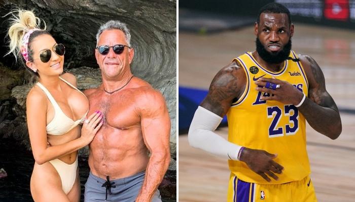 Juliana et Chris Carlos, fans des Atlanta Hawks, ont tous deux pris à partie la superstar NBA des Los Angeles Lakers, LeBron James, lors de sa venue dans la State Farm Arena