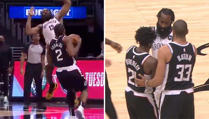 Polémique arbitrale, échauffourée : c'était tendu entre les Clippers et les Nets ! NBA