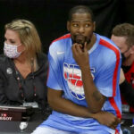 NBA – La réaction géniale de Kevin Durant face aux insultes à Philadelphie