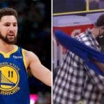 NBA – La vidéo déchirante de Klay Thompson sur le bord du parquet
