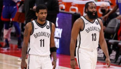 Les Nets humiliés, la séquence virale de Kyrie hagard sur le banc NBA