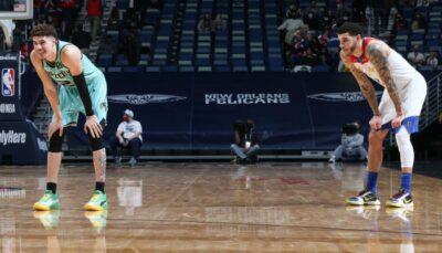 NBA – En feu, LaMelo embarrasse déjà Lonzo !