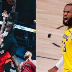 NBA – Anthony Edwards met fin à une carrière en signant le poster de l'année, LeBron réagit !
