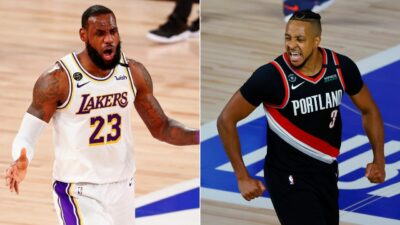 NBA – CJ McCollum tacle LeBron après sa supposée simulation !