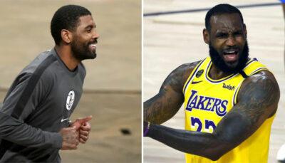 NBA – Kyrie Irving humilie LeBron en plein match après un raté !