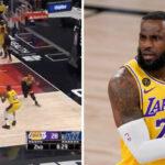 NBA – LeBron met Gobert à terre… mais se rate complètement !