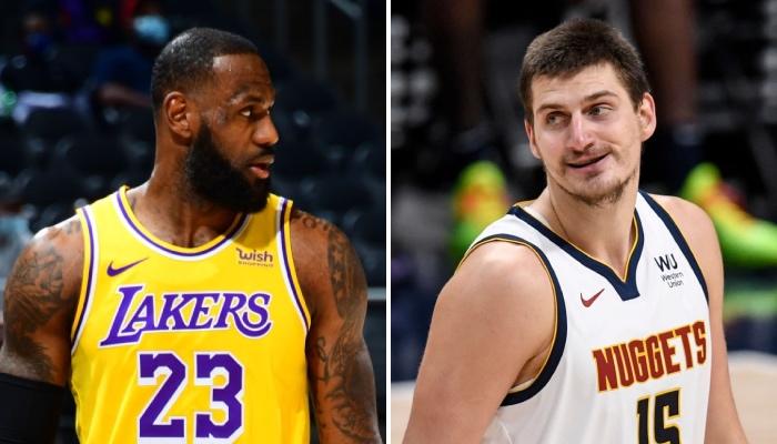 La superstar NBA des Los Angeles Lakers, LeBron James, s'est vue trollée par le pivot star des Denvers Nuggets, Nikola Jokic