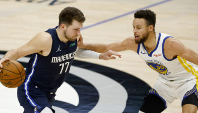 NBA – Steph Curry contredit Draymond Green et Luka Doncic