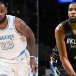 NBA – Le drôle de compliment de LeBron James à Kevin Durant en 2015