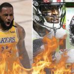 NBA – LeBron James en feu devant Tom Brady et le Superbowl !