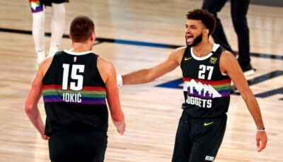 NBA – Jamal Murray tacle… Nikola Jokic !
