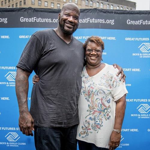 Mere de Shaquille O'Neal NBA