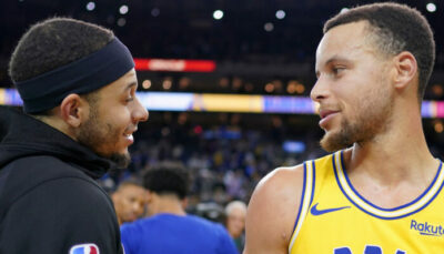 NBA – Steph Curry réagit à la dinguerie de son frère Seth