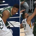 NBA – Rudy Gobert détruit Giannis sur un violent poster !