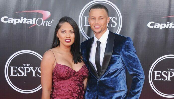 Steph et Ayesha Curry