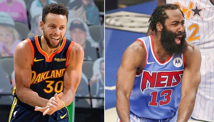 James Harden bientôt dépassé par... Steph Curry ? NBA