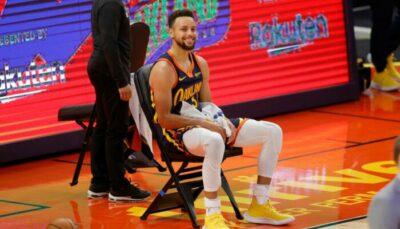 NBA – Inarrêtable, Steph Curry freiné par… sa propre équipe en plein match !