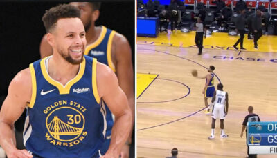 NBA – Le trois points complètement insolent de Curry… après le buzzer !