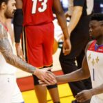 NBA – Les brutes Zion Williamson et Steven Adams