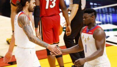 NBA – Les brutes Zion Williamson et Steven Adams