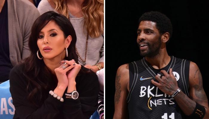 La femme de la légende NBA Kobe Bryant, Vanessa, a réagi à l'idée folle du meneur des Brooklyn Nets, Kyrie Irving, concernant son époux
