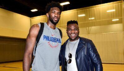 NBA – Francis Ngannou envoie un message kiffant à Joel Embiid !