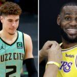 NBA – Le post provocateur de LeBron envers LaMelo sur IG
