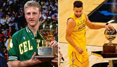 NBA – L'arrogance de Larry Bird que même Steph Curry n'a pas osée