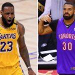 NBA – Drake valide une première all-time, LeBron réagit !